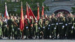 Una formación de soldados