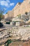 Vecchia Gerusalemme Temple Mount Fotografie Stock