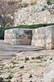 Vecchia Gerusalemme Temple Mount Fotografia Stock Libera da Diritti