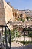 Vecchia Gerusalemme Temple Mount Fotografie Stock Libere da Diritti