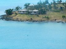 Una foto molto bella dell'isola immagini stock