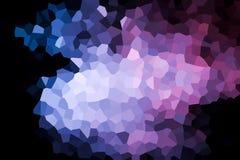 Una fotografía de un modelo geométrico abstracto ilustración del vector