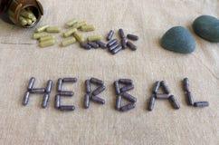 Medicina herbaria Fotografía de archivo libre de regalías