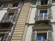 Una fotografia stupefacente della città di Torino fotografie stock