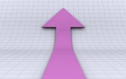 Una freccia di sviluppo Immagini Stock