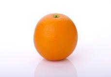 Una frutta arancio Immagine Stock