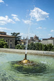 Una fuente en Florencia Fotografía de archivo