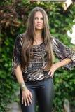 Una giovane donna Immagine Stock
