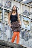Una giovane donna Fotografia Stock