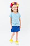 Una giovane ragazza del fashionista Fotografie Stock