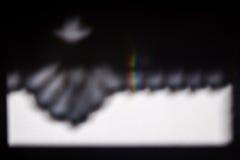 Una goccia di colore Fotografie Stock