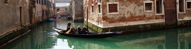 Una Gondola Lizenzfreies Stockbild