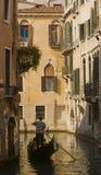 Una gondola a Venezia, Italia Fotografia Stock Libera da Diritti