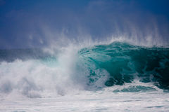 Una grande onda Fotografie Stock