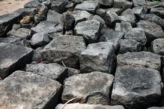 Una grande roccia Immagini Stock Libere da Diritti