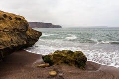Una grande roccia dell'arenaria Immagine Stock Libera da Diritti