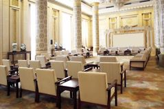 Una grande sala riunioni Immagine Stock Libera da Diritti