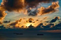 Una grande vacanza sull'isola di Saipan Immagine Stock