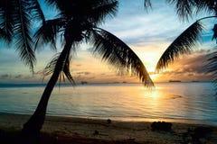Una grande vacanza sull'isola di Saipan Fotografia Stock Libera da Diritti