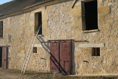 Una granja francesa vieja Foto de archivo libre de regalías