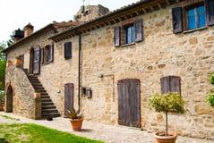 Una granja italiana vieja fotografía de archivo libre de regalías