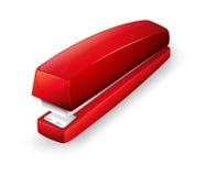 Una grapadora roja libre illustration