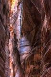 Una grieta en la tierra Imagenes de archivo