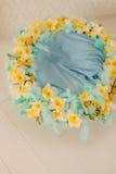 Una guirnalda de la flor de narcisos Fotos de archivo libres de regalías