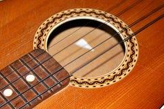 Una guitarra Imágenes de archivo libres de regalías