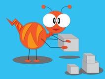 Una hormiga grande Fotografía de archivo libre de regalías