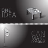 Una idea puede hacer posible Imagenes de archivo