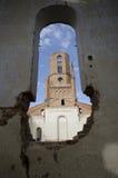 Una iglesia abandonada. Imagenes de archivo