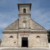 Una iglesia de piedra vieja Imagenes de archivo