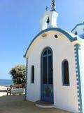 Una iglesia en Creta foto de archivo