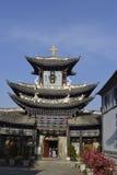 Una iglesia en una ciudad china antigua Fotografía de archivo libre de regalías