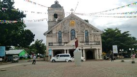 Una iglesia local en la provincia de Leyte Imagen de archivo libre de regalías