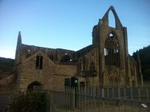 una iglesia muy vieja galés Fotos de archivo
