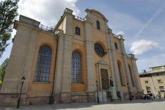 Una iglesia sueca Fotos de archivo