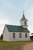Iglesia vieja de la pradera Imágenes de archivo libres de regalías