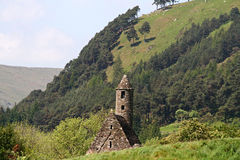 Una iglesia vieja en Glendalough Fotos de archivo