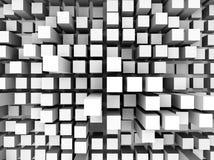 Una ilustración de un fondo cuadrado abstracto Fotografía de archivo