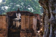 Una imagen antigua de Buddha Fotografía de archivo