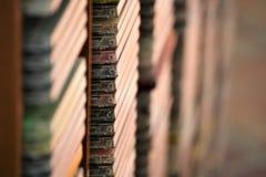 Una imagen de una colección cd - Cdes de la música Imagenes de archivo