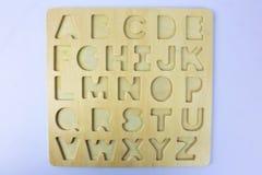 Una imagen de letras, pre escuela, educación del concepto foto de archivo libre de regalías