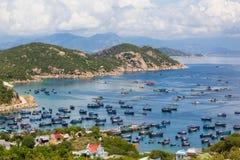 Una imagen en Binh Ba Island Imagen de archivo