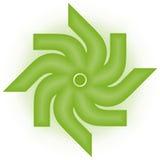Una insignia de la compañía foto de archivo libre de regalías