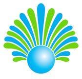 Una insignia de la compañía Fotografía de archivo