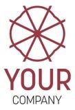Una insignia para su compañía fotografía de archivo libre de regalías