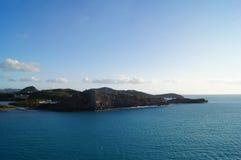 Una isla Fotografía de archivo libre de regalías