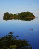 Una isla en el mar del sur de China Imagen de archivo libre de regalías